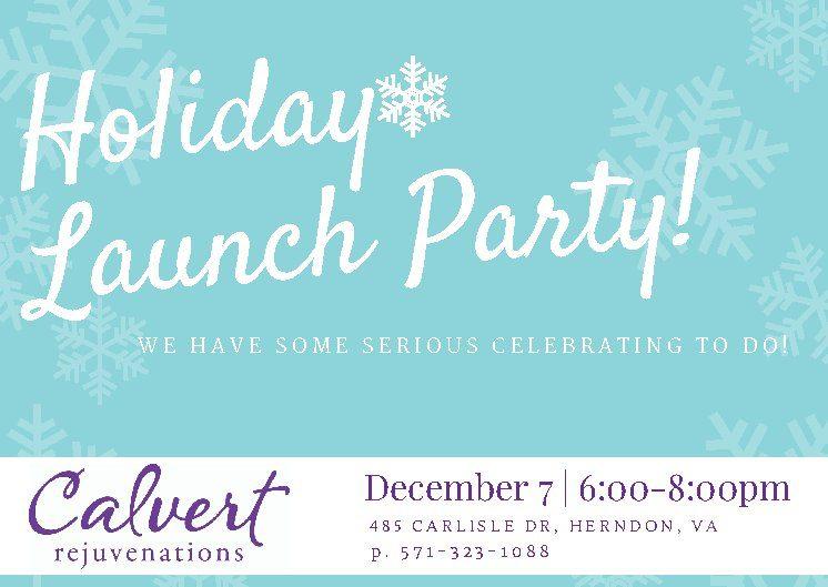 calvert rejuvenations launch party